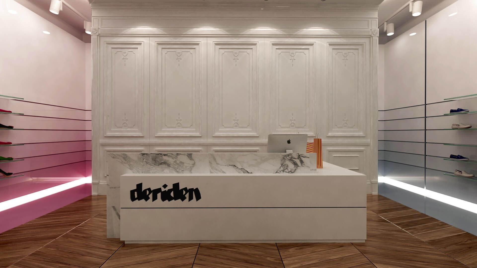 shop design 2016 Deriden Concept Retail