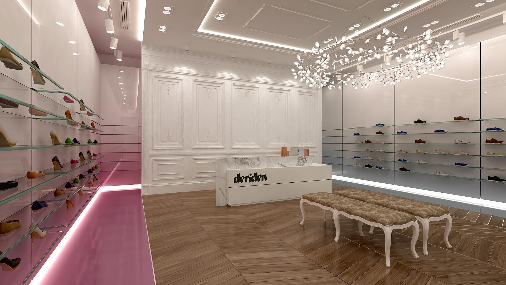 Deriden Concept, Retail