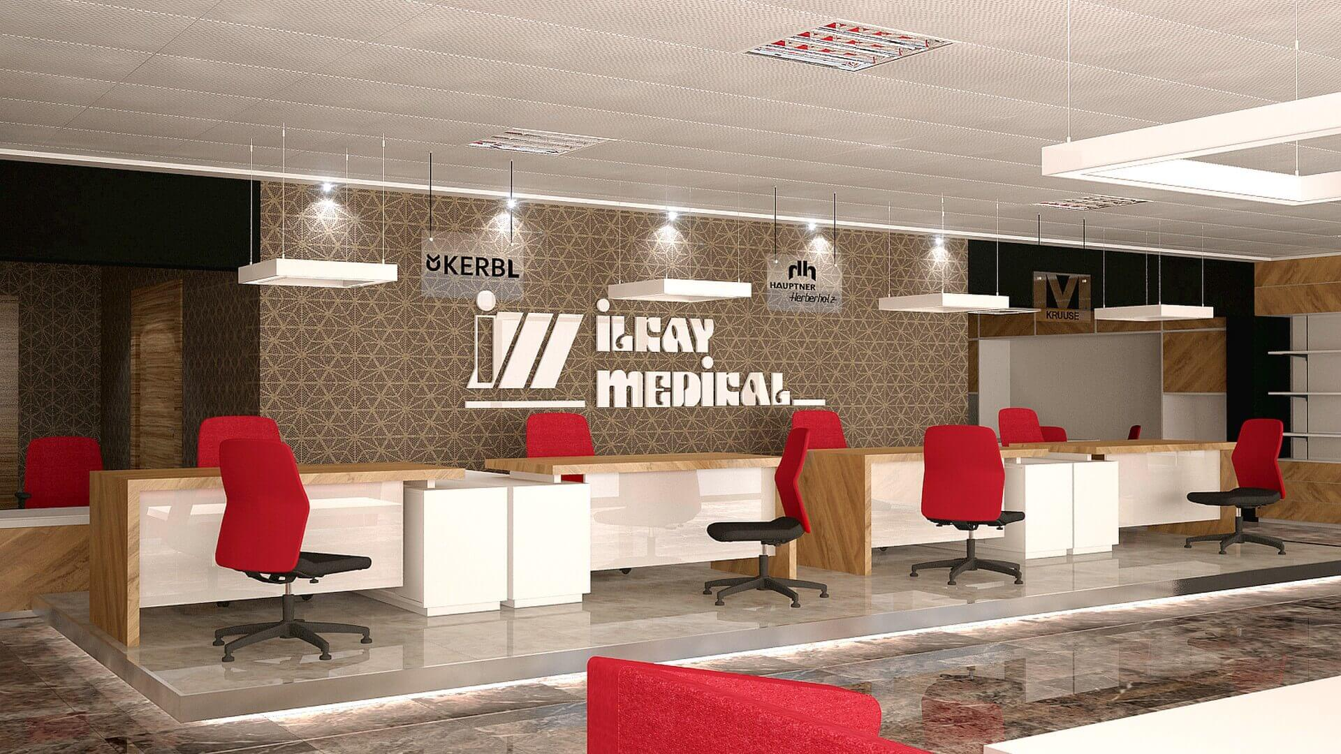 shop design 2022 Ilkay Medical Shop Retail