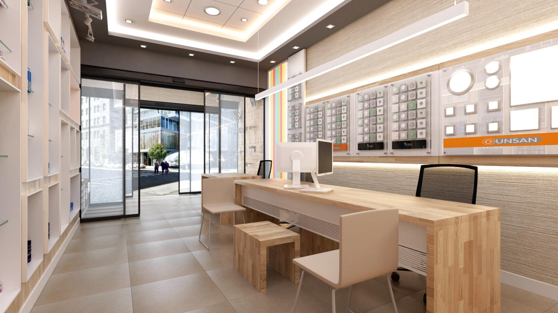 Retail Shop Design Interior Architecture Yetven Electric / Ulus