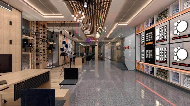 retail design 2040 Yetven Electric / Ostim Retail