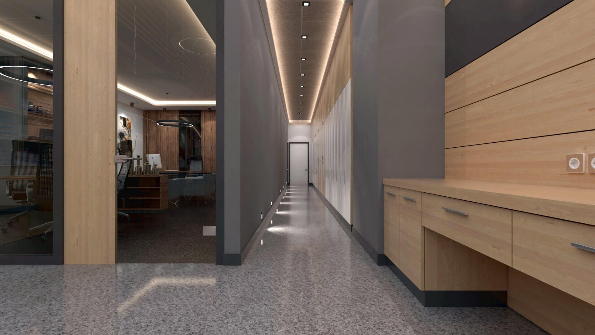 shop design 2049 Yetven Electric / Ostim Retail