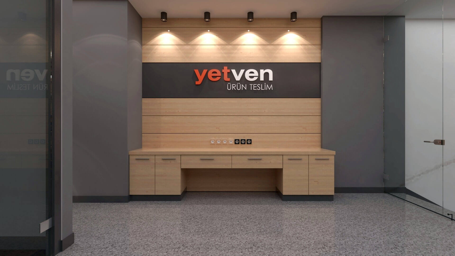 retail design 2050 Yetven Electric / Ostim Retail