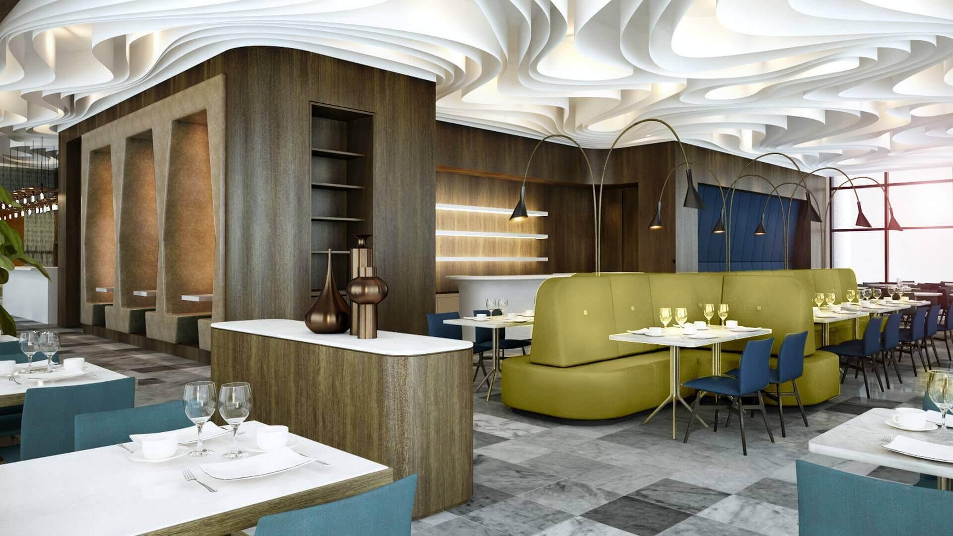 restaurant interior design 2052 Tiflis Steakhouse Restaurants
