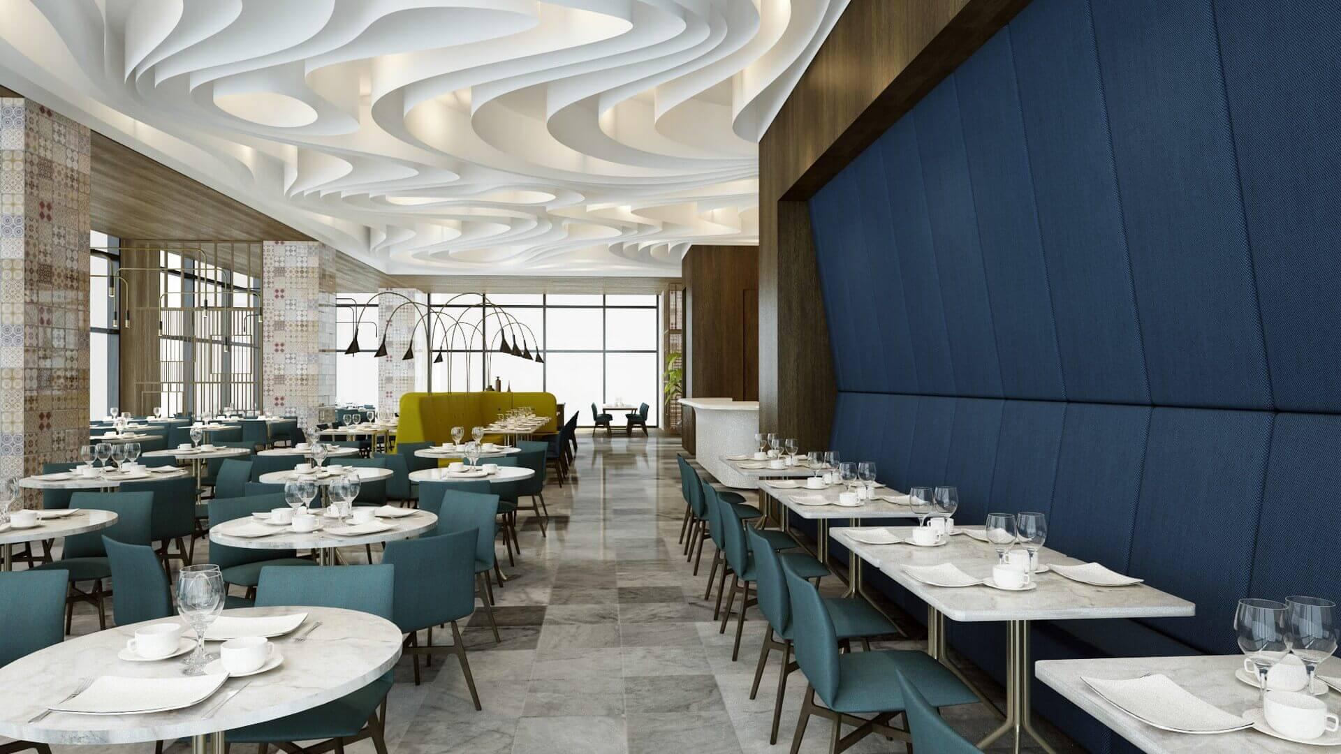 restaurant interior design 2055 Tiflis Steakhouse Restaurants