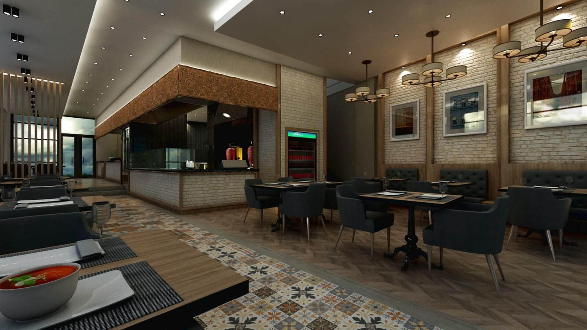 restaurant interior design 2064 Otonomi Restaurant Restaurants