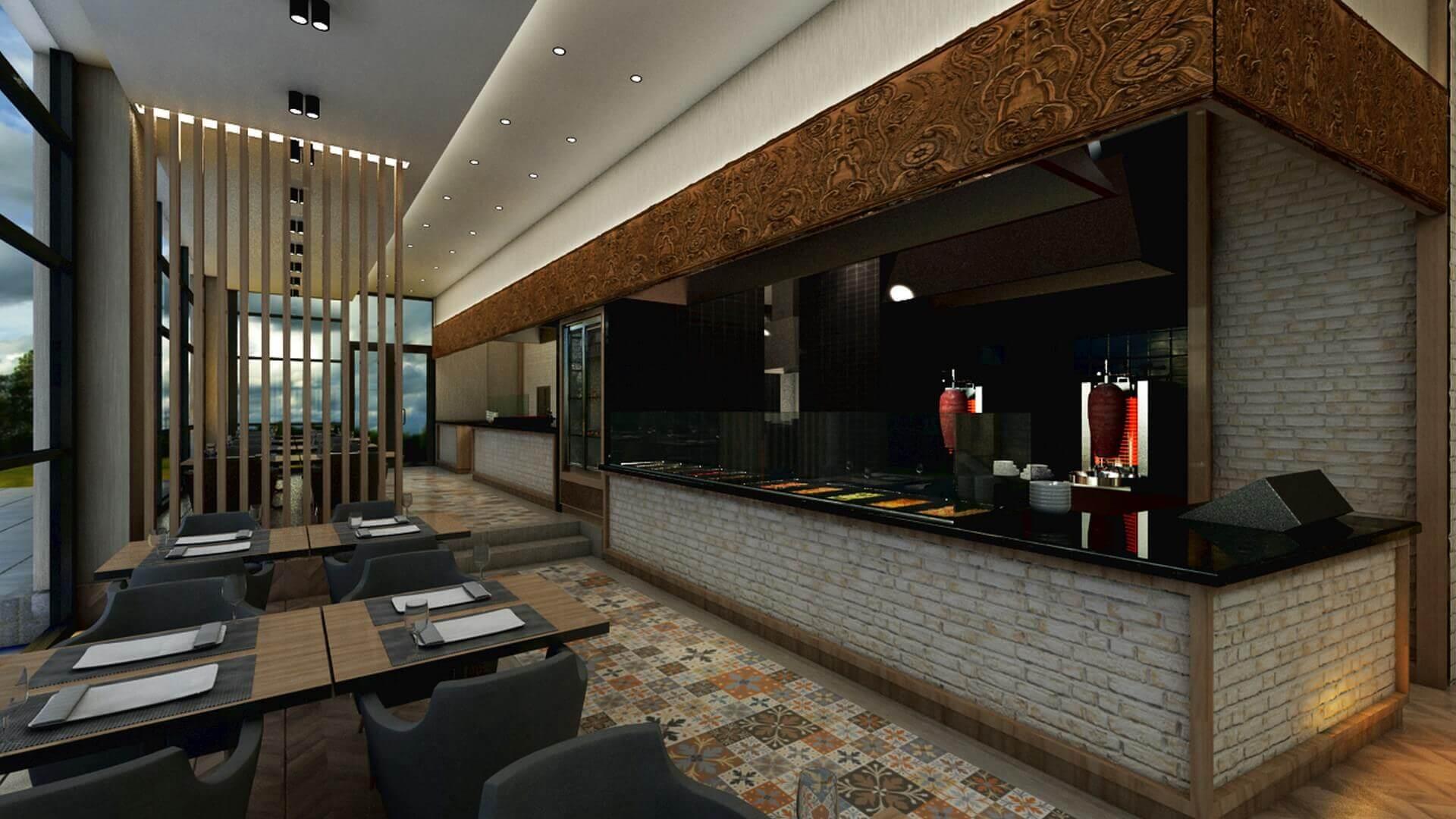 restaurant interior design 2067 Otonomi Restaurant Restaurants