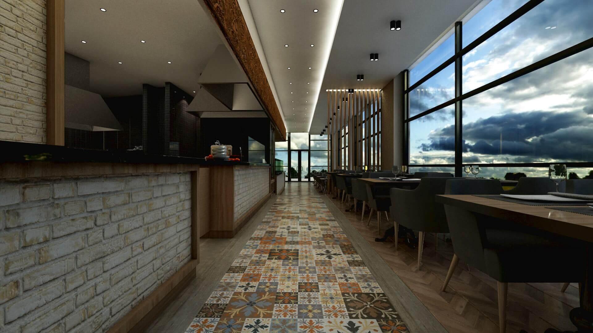 restaurant interior design 2070 Otonomi Restaurant Restaurants
