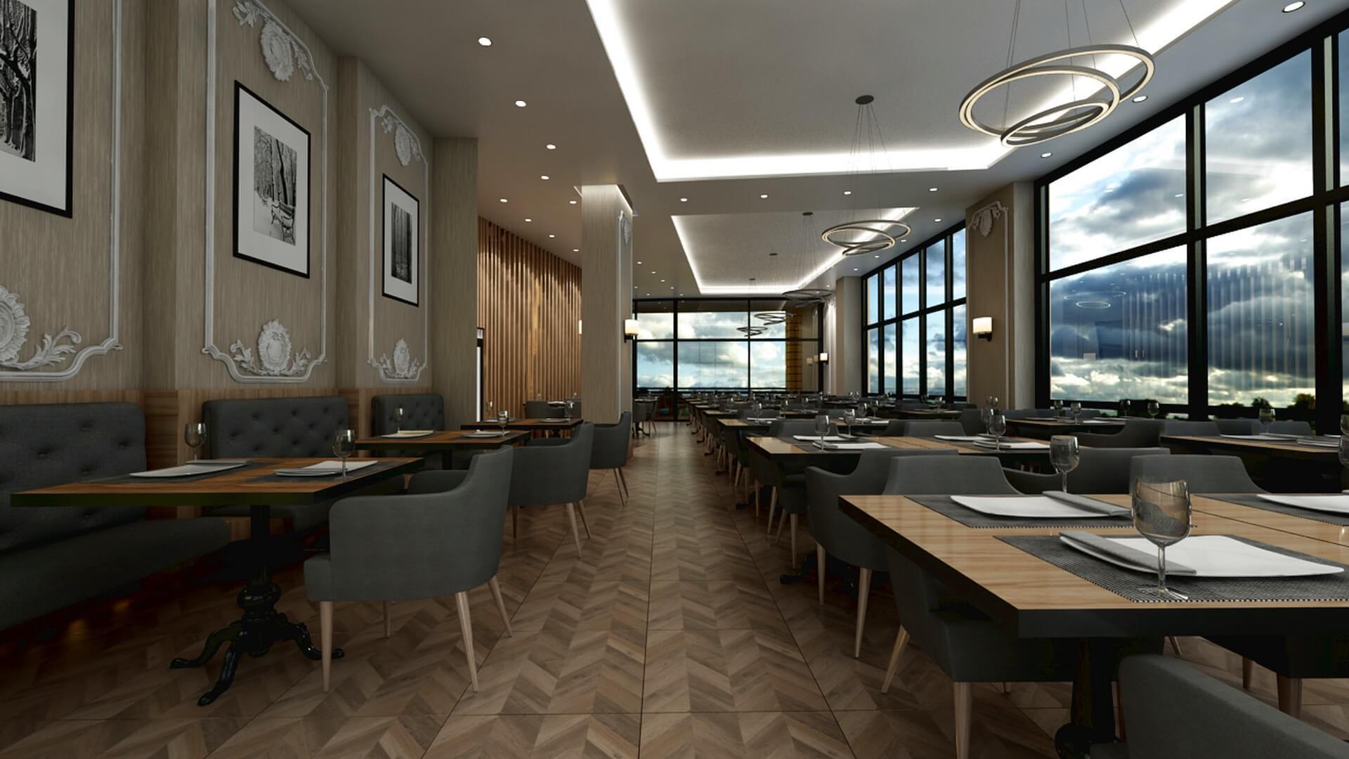 Restaurant interior design Otonomi Restaurant