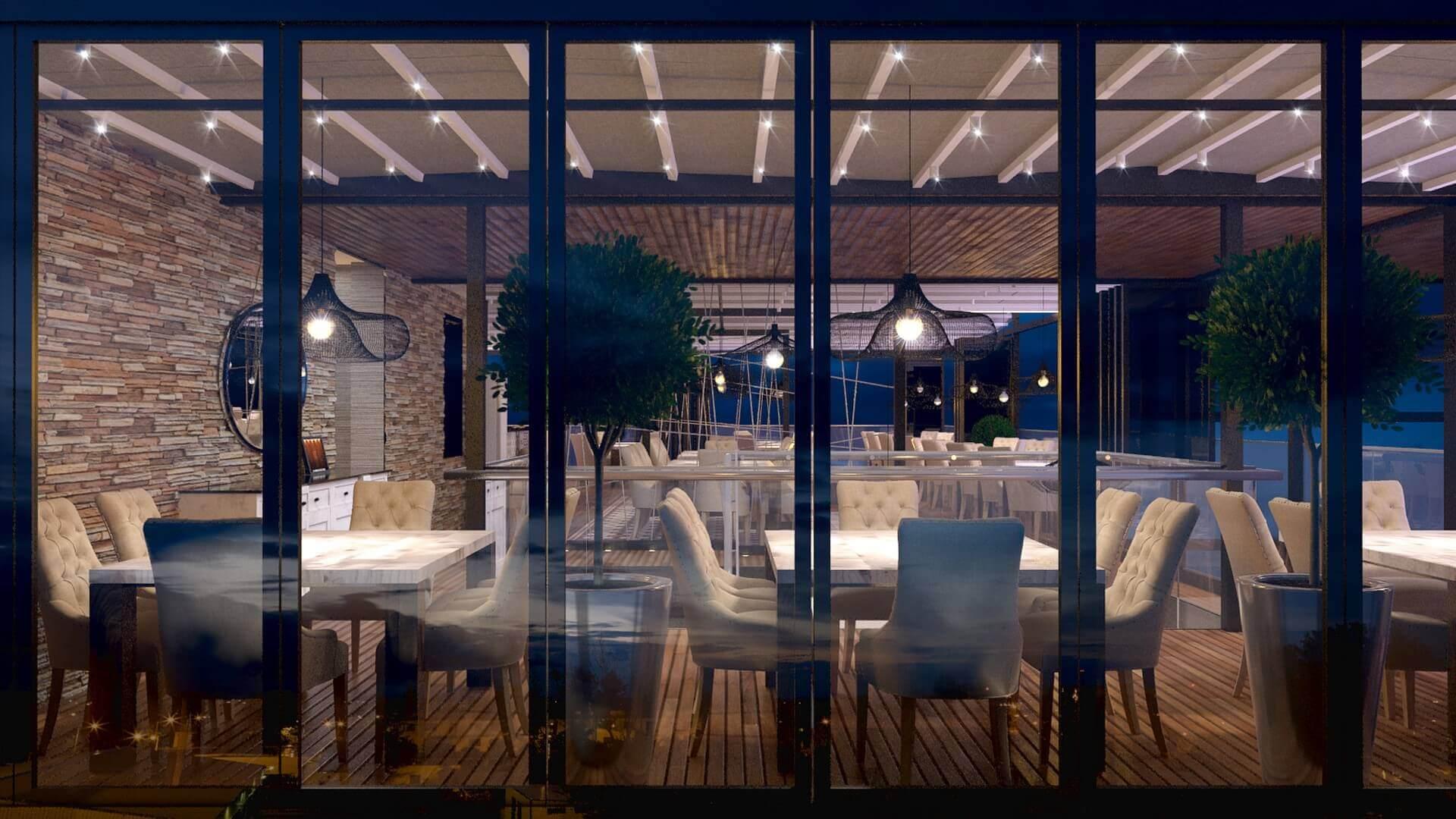 restaurant interior design 2100 Iskenderun Restaurant Restaurants