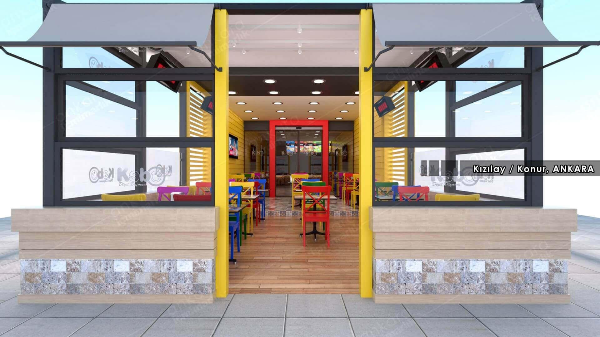 restaurant interior design 2109 Kebo 2016 Restaurants