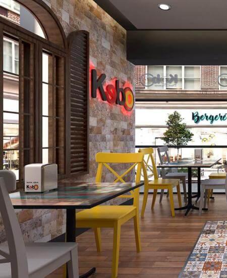 restaurant interior design 2112 Kebo 2016