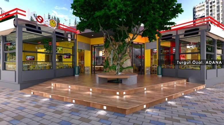 restaurant interior design 2113 Kebo 2017 Restaurants