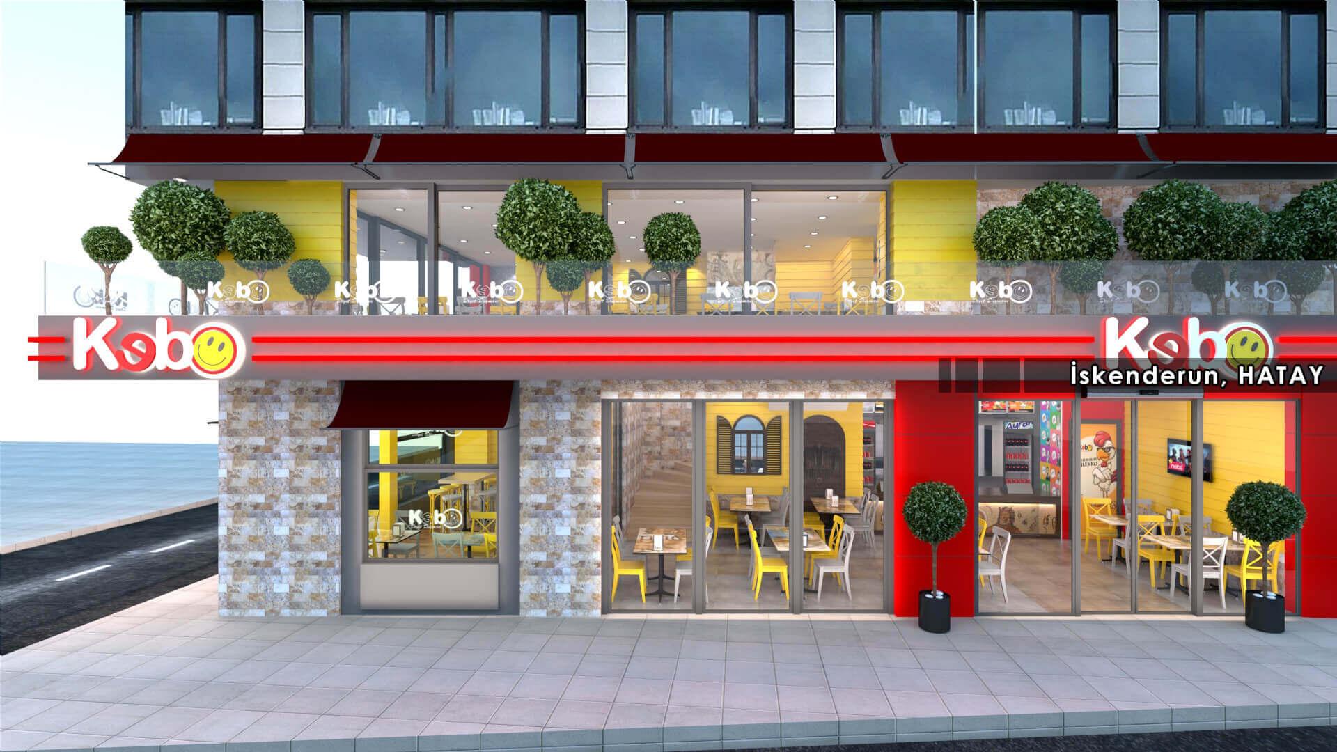 restaurant interior design 2118 Kebo 2017 Restaurants