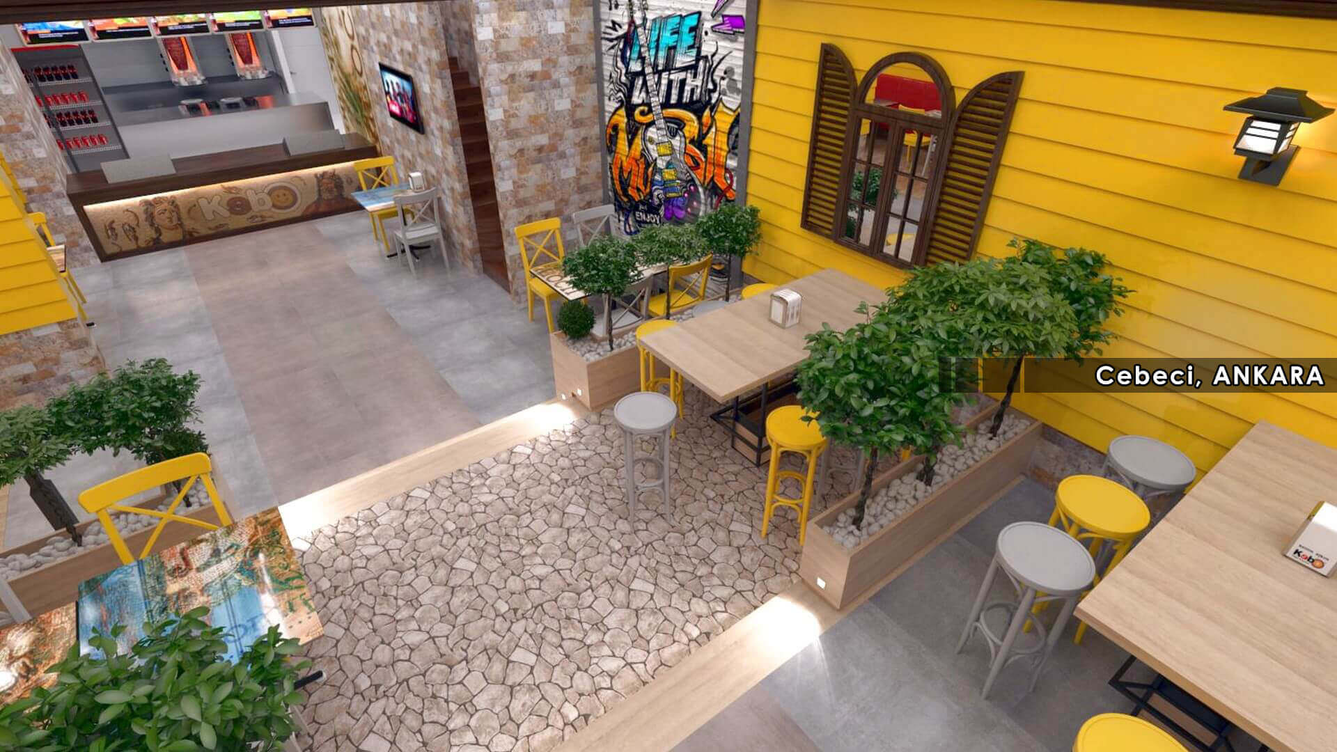 restaurant design 2120 Kebo 2018 Restaurants