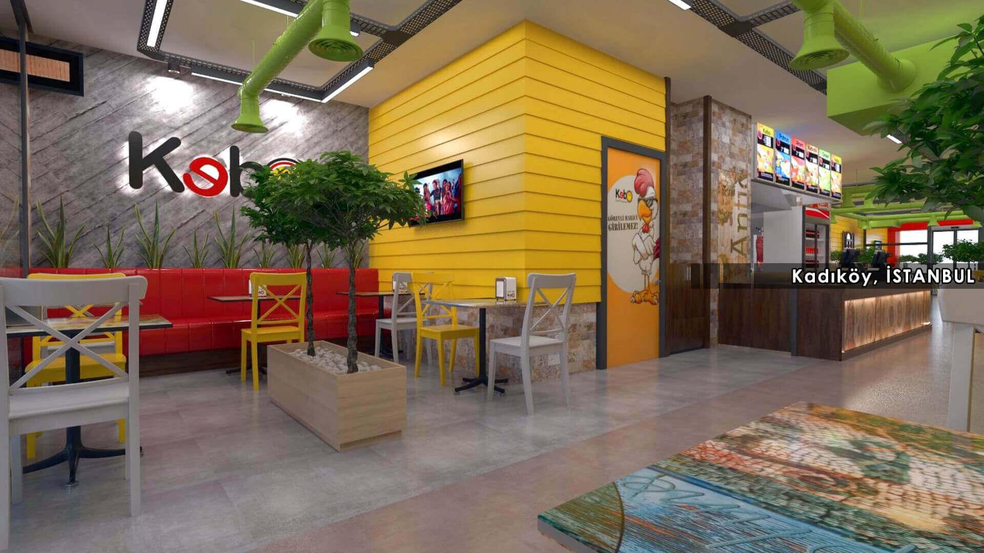 restaurant interior design 2124 Kebo 2018 Restaurants
