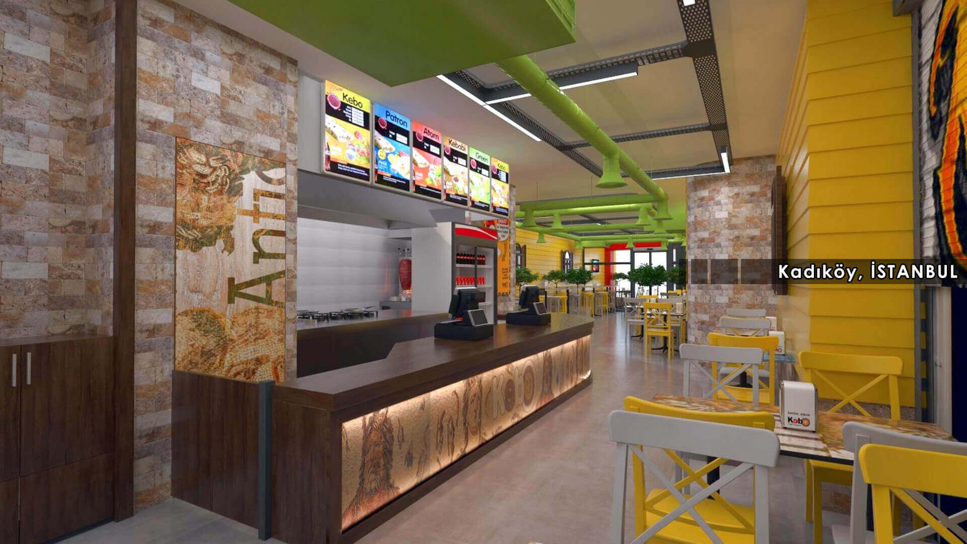 restaurant interior 2125 Kebo 2018 Restaurants