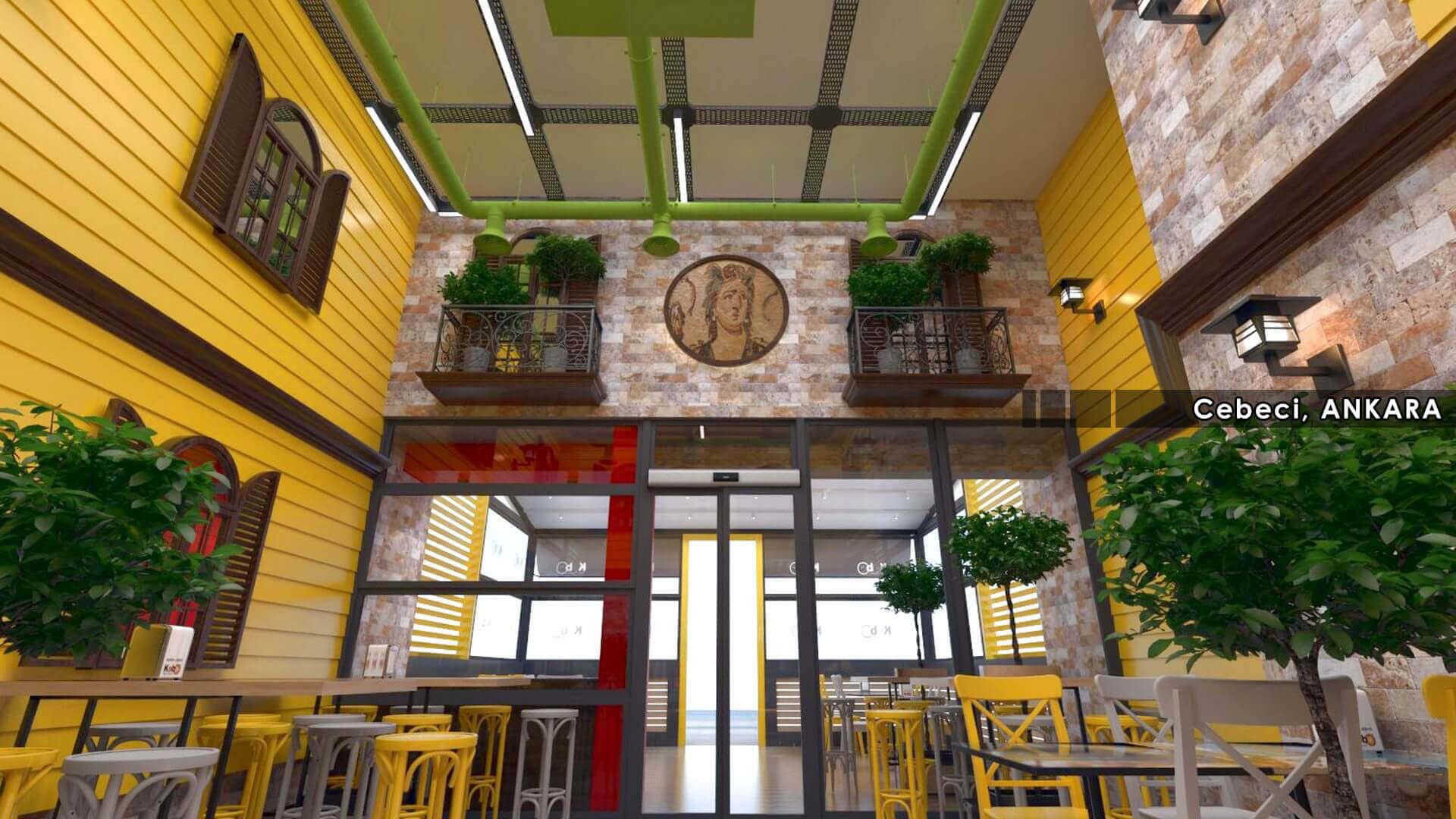 restaurant interior design 2130 Kebo 2018 Restaurants