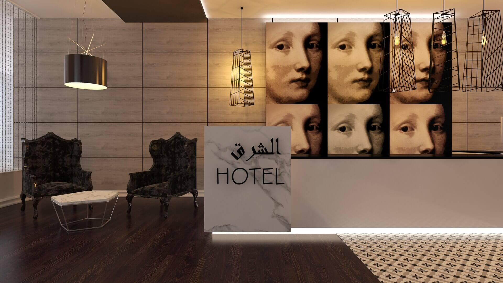 Hotel Architecture and Interior Design East Hotel, Tehran