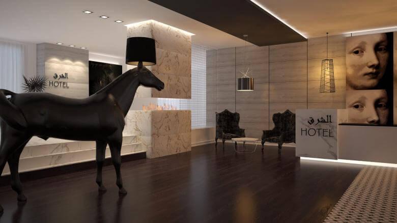 reception design 2133 East Hotel, Tehran Hotels