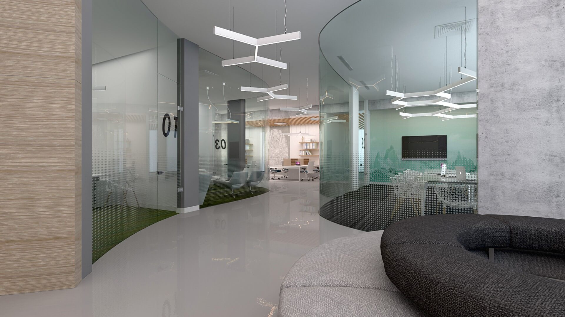 General Electric, Offices