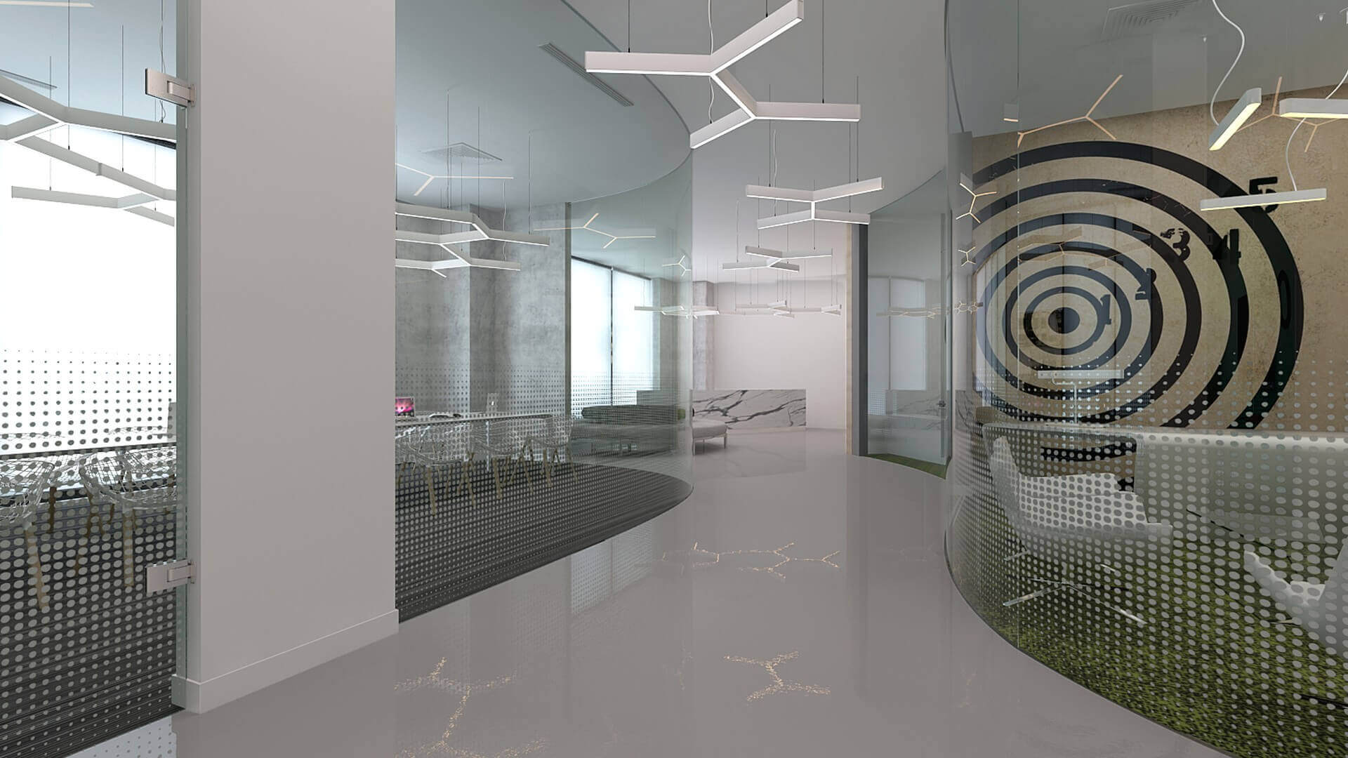 office design 2160 General Electric Offices