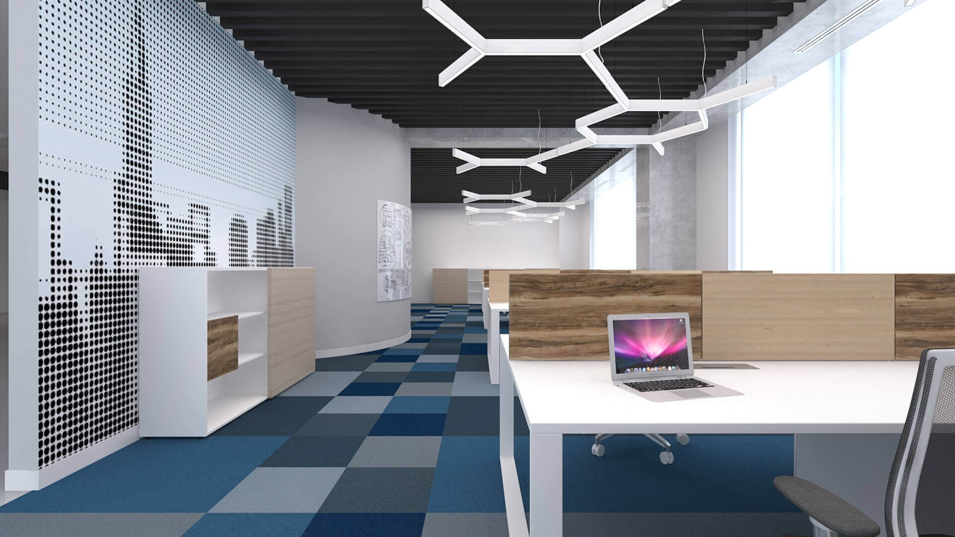 office design 2163 General Electric Offices