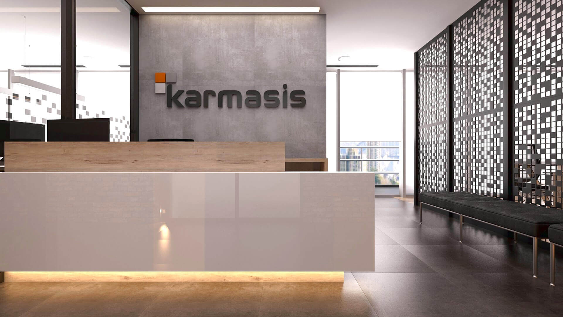 office design 2169 Karmasis Software Offices