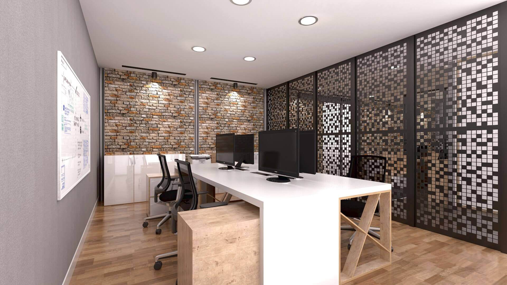 office decoration 2170 Karmasis Software Offices