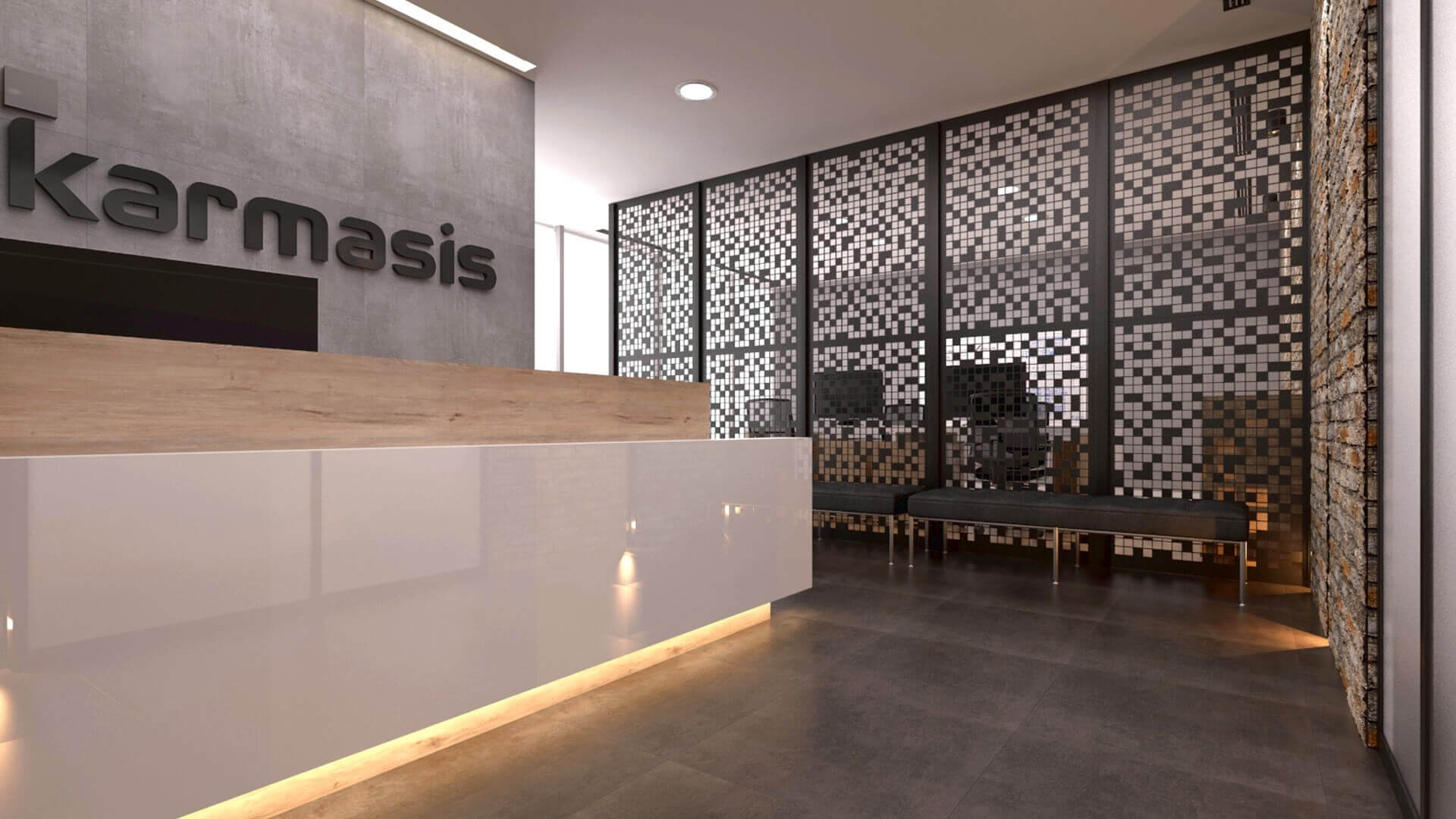 office design 2172 Karmasis Software Offices