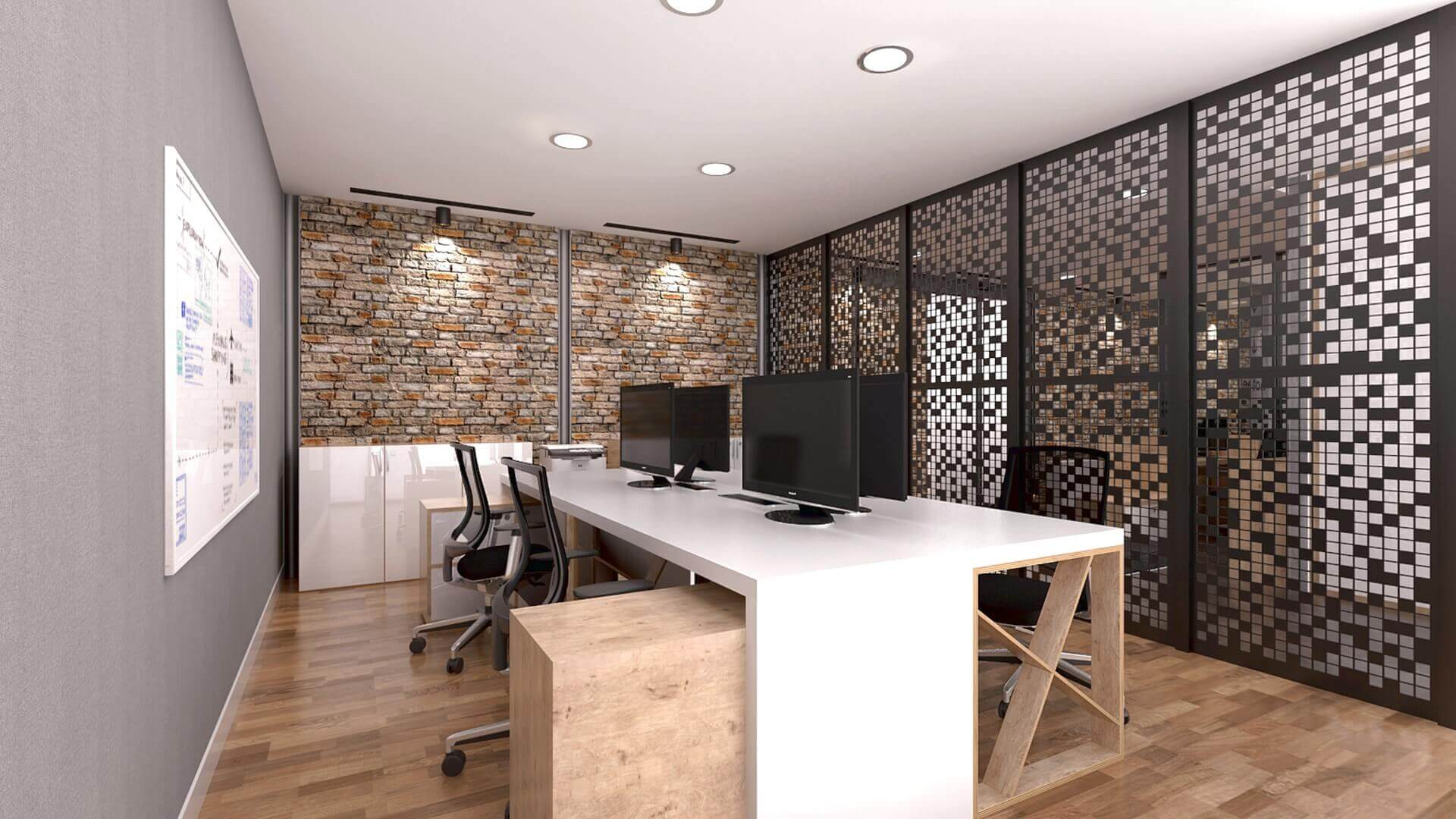 office design 2178 Karmasis Software Offices