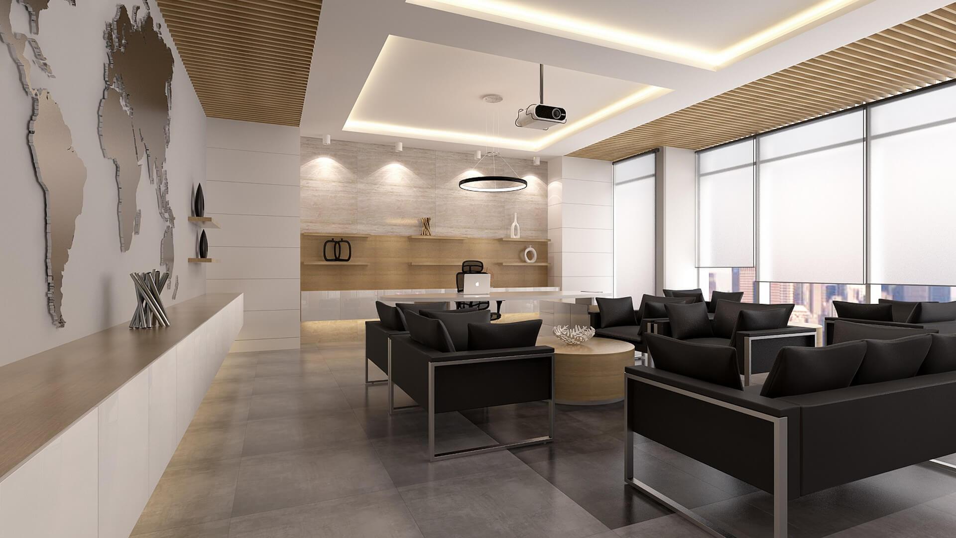 Office Interior Design Decoration Kuta Office