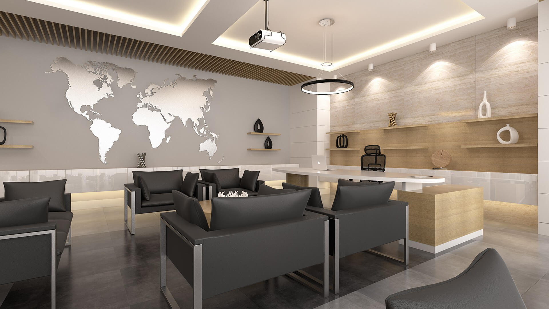 World map Offices