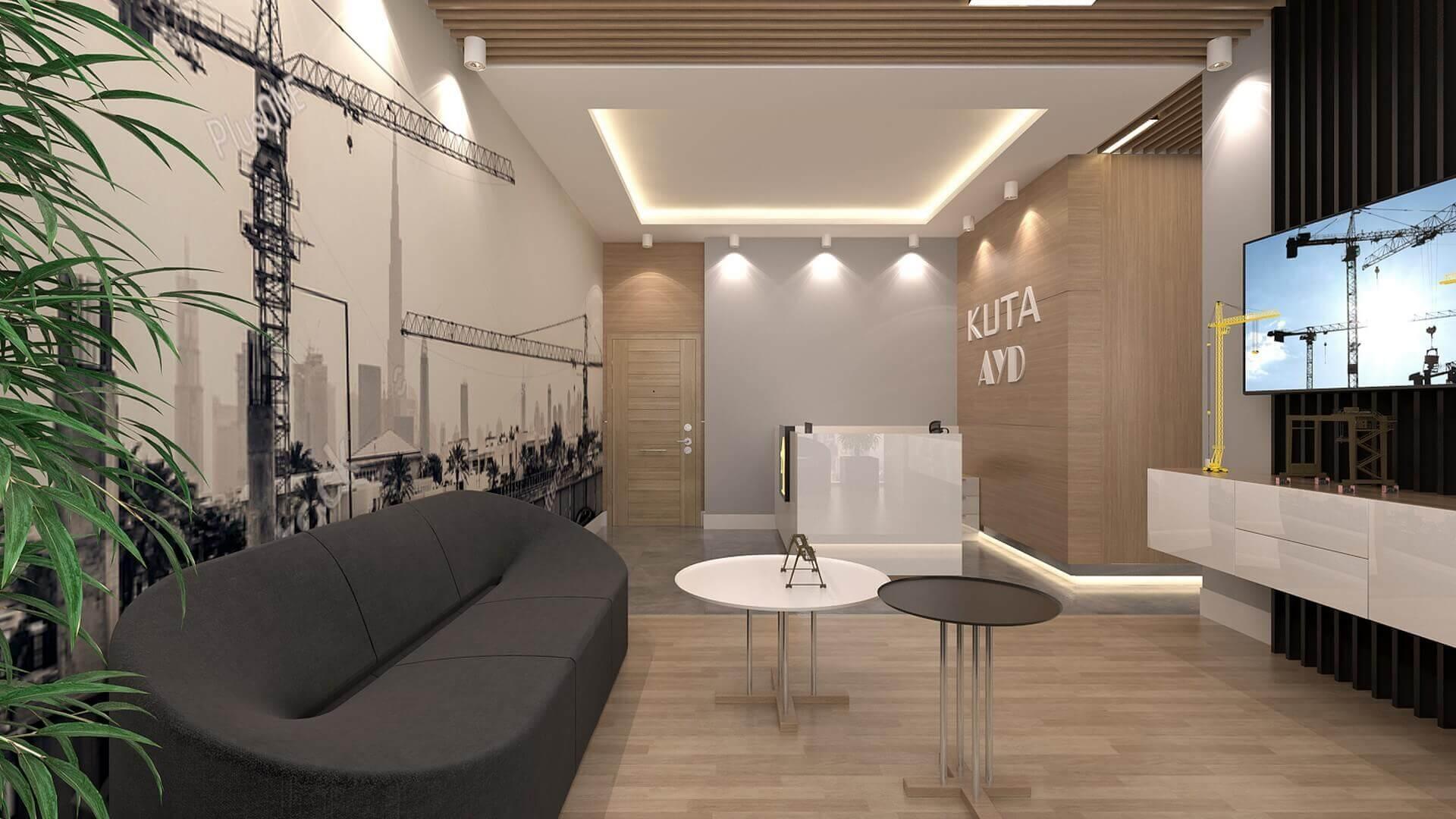 Waiting area 2221 Kuta Office Offices