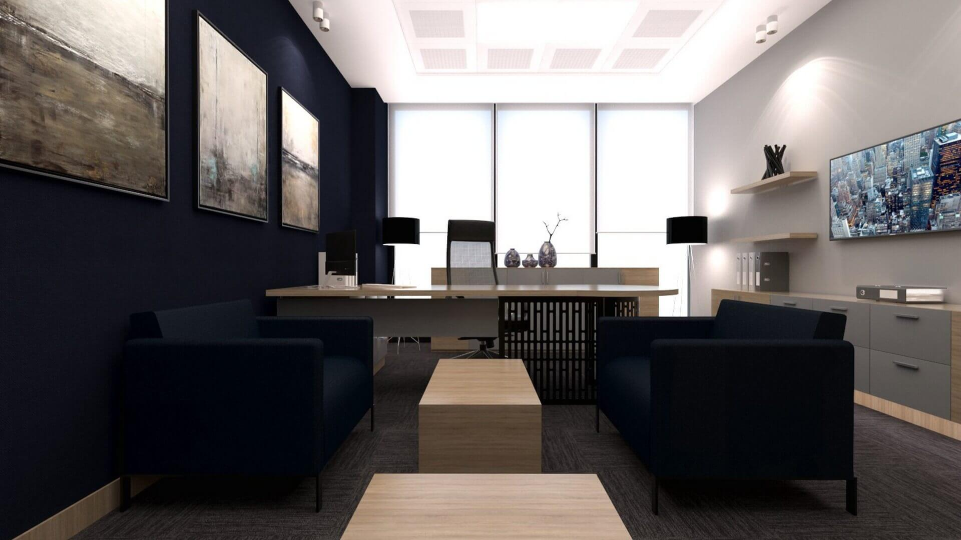 office design 2226 A. Caglar CPA Office Offices
