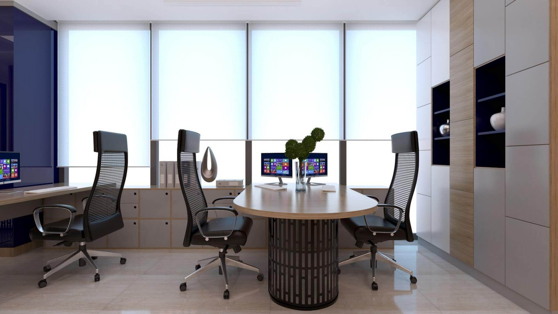 office design 2229 A. Caglar CPA Office Offices