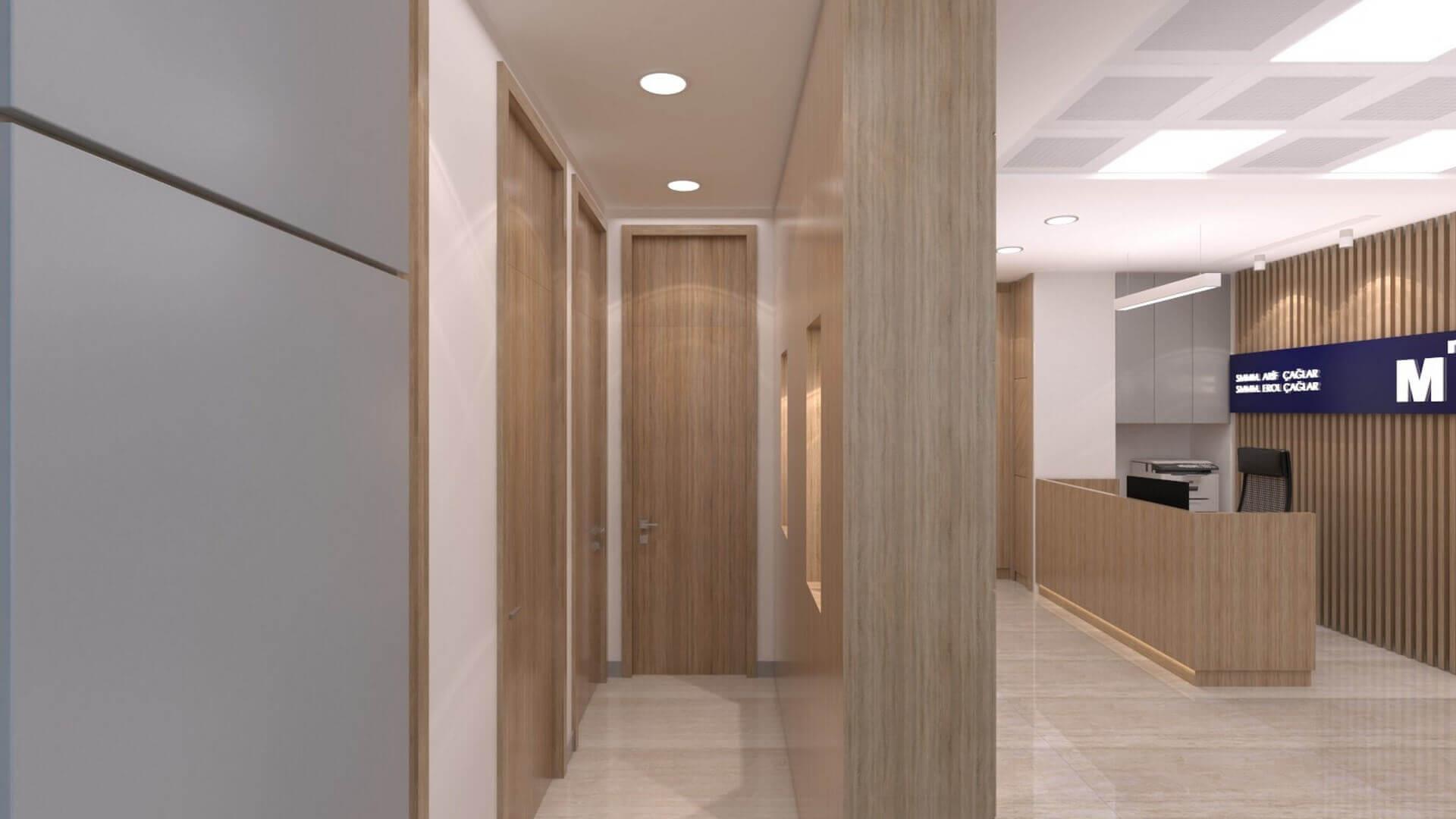 Ankara office architect 2231 A. Caglar CPA Office Offices