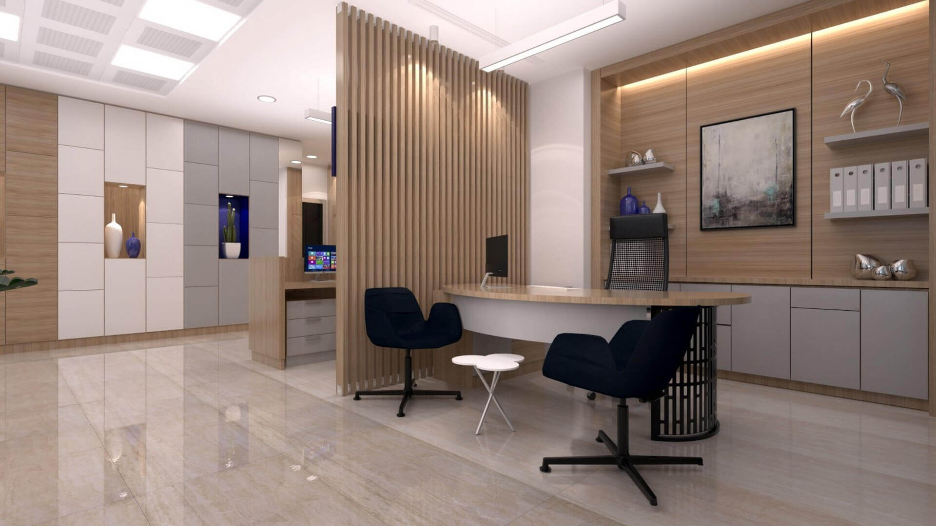 office design 2232 A. Caglar CPA Office Offices