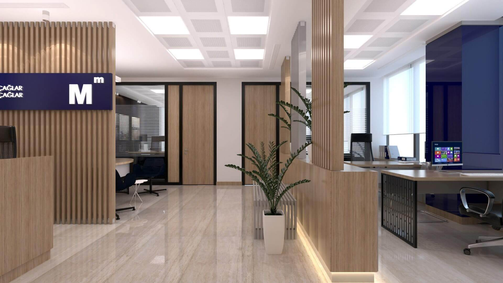 office design 2235 A. Caglar CPA Office Offices