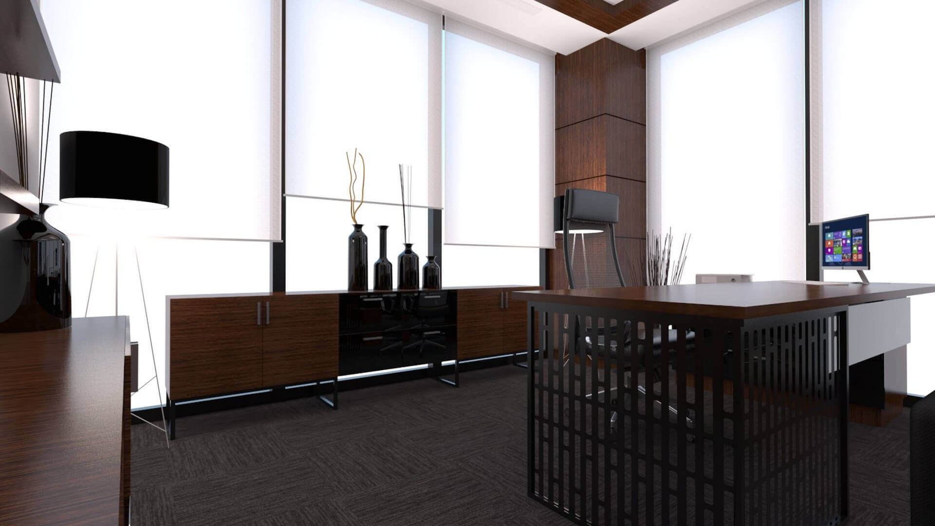 office design 2238 A. Caglar CPA Office Offices