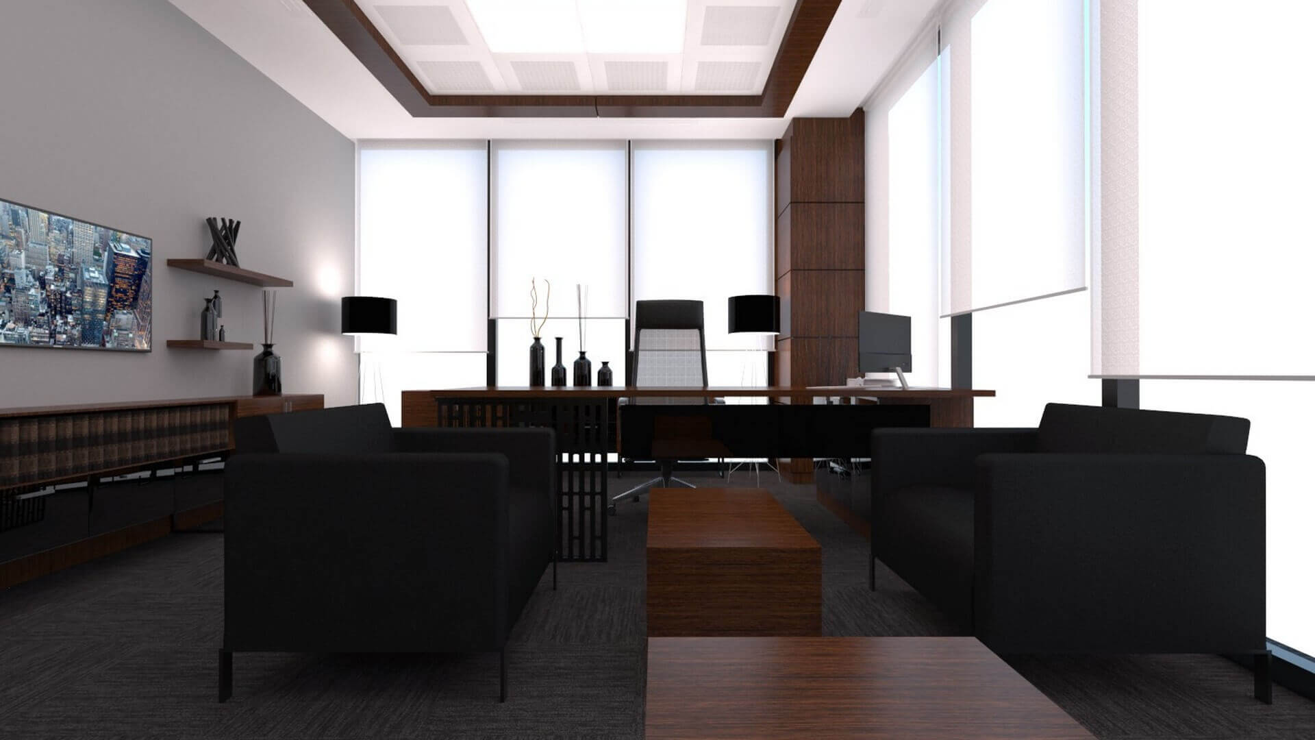 office project  2240 A. Caglar CPA Office Offices