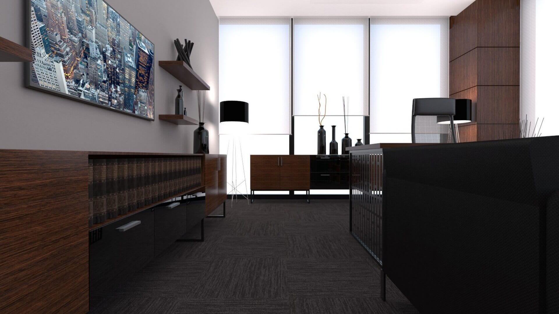 Ankara office architect 2241 A. Caglar CPA Office Offices