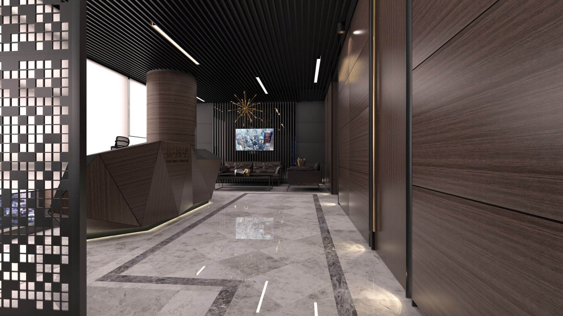 office design 2250 Bahar Construction Offices