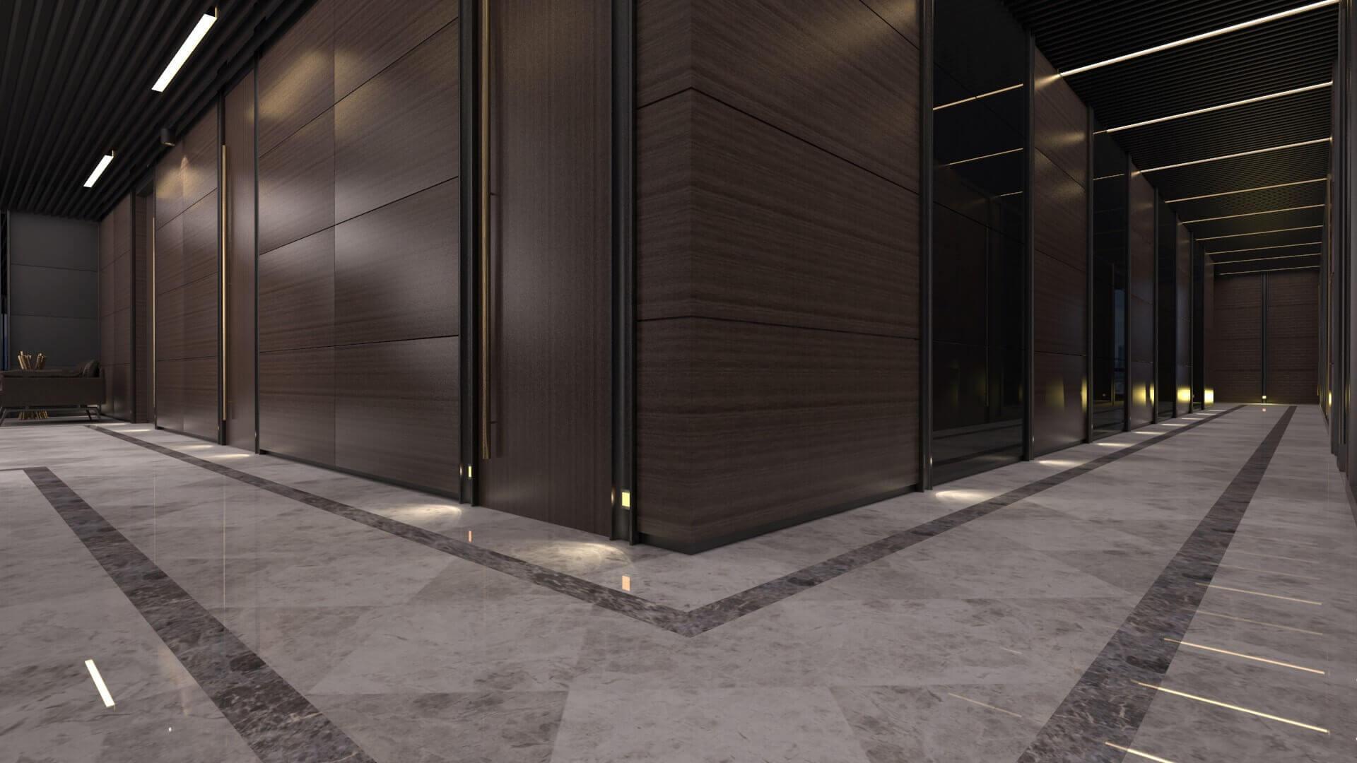 office design 2256 Bahar Construction Offices