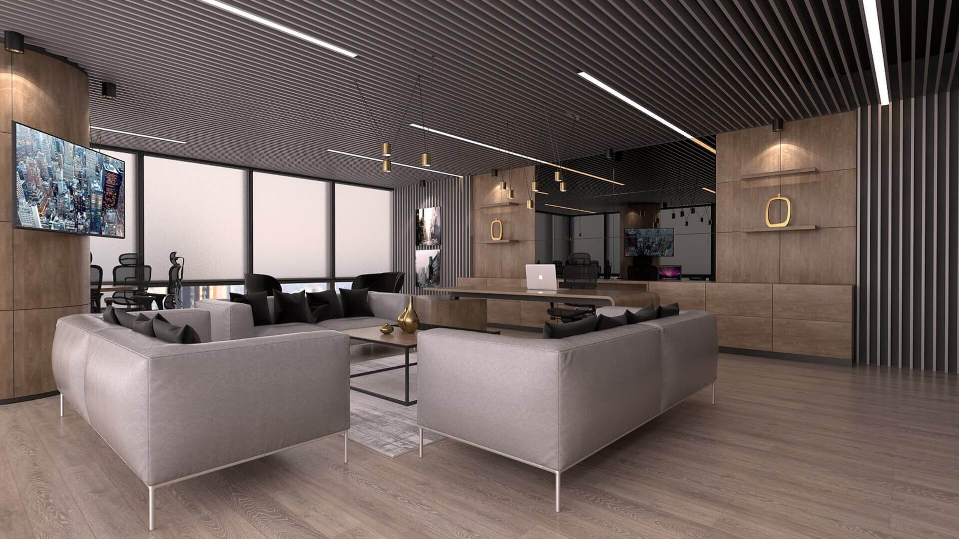 office project  2264 Bahar Construction Offices