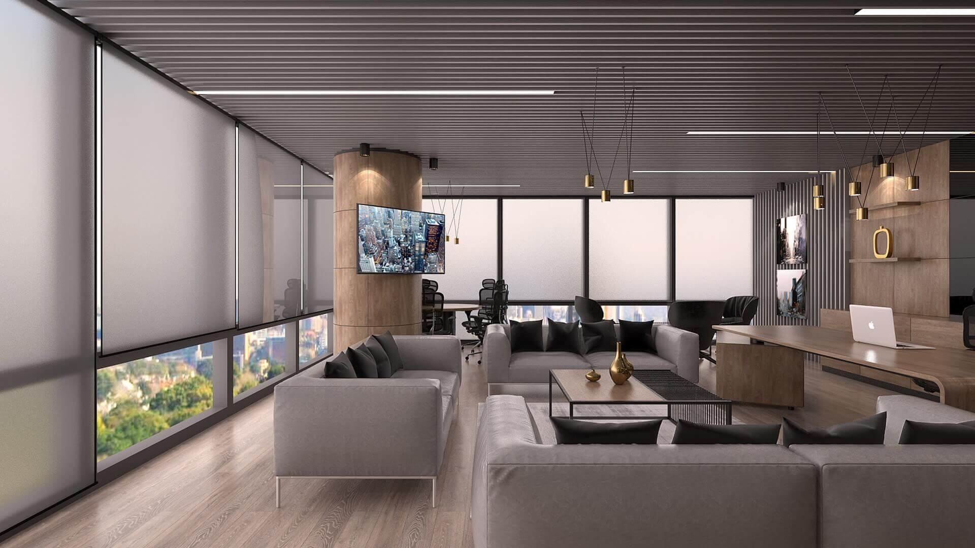 office design 2265 Bahar Construction Offices