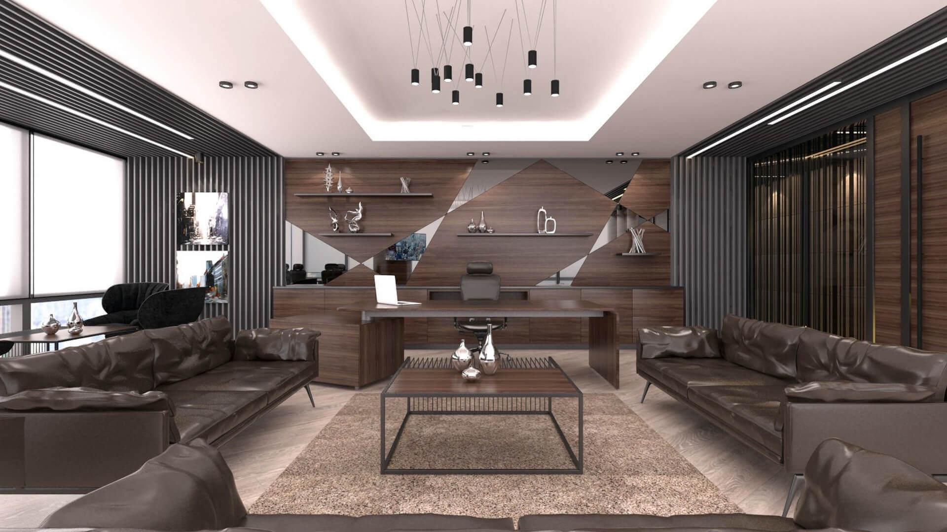 office design 2268 Bahar Construction Offices