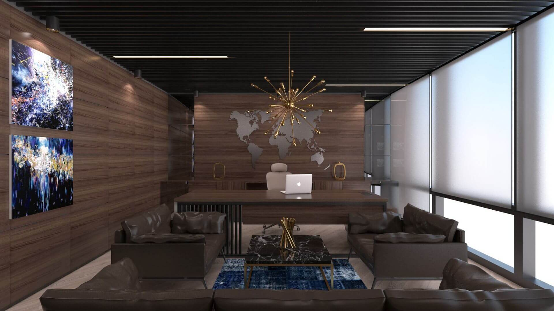 office design 2277 Bahar Construction Offices