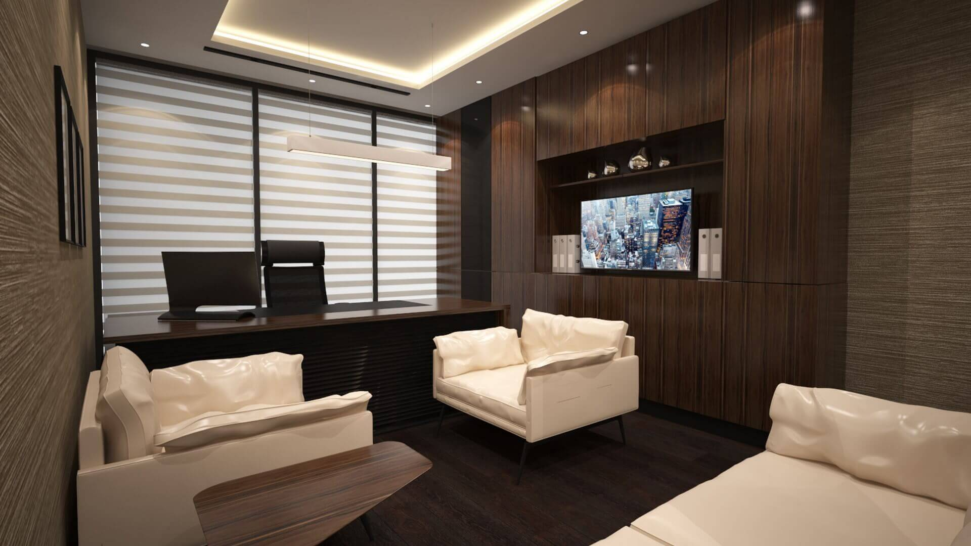 Ankara office design 2291 Baysal Law Office Offices
