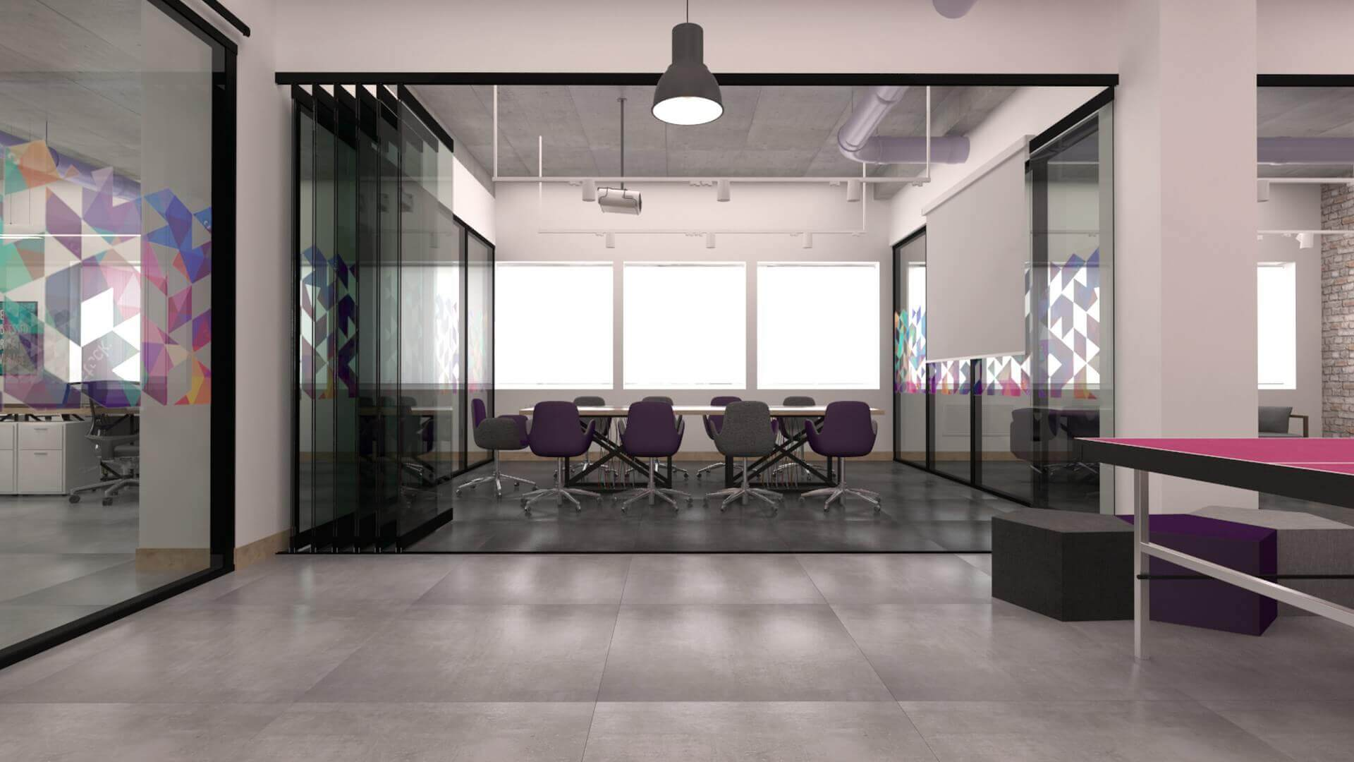 office design 2349 Connected2.me Office Offices